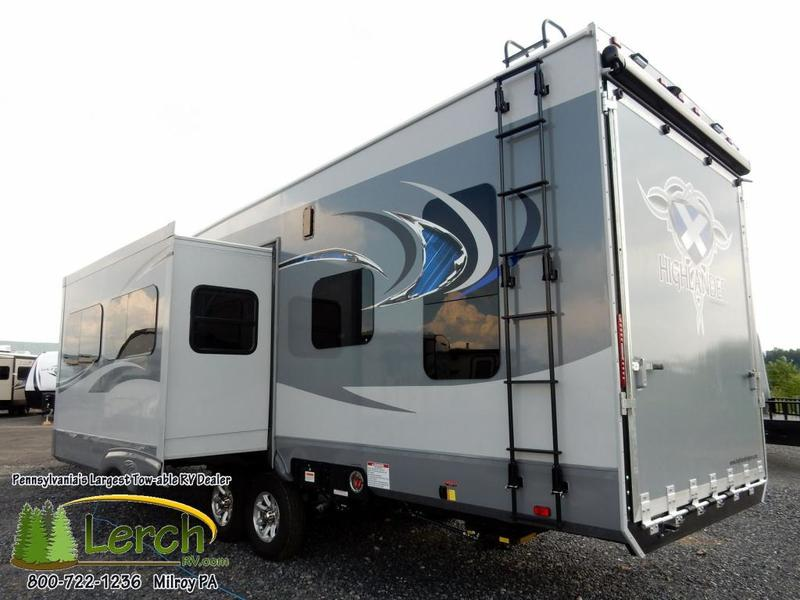 Toy hauler for sale 2017 highlander ht31rgr travel trailer for Toy hauler motor homes