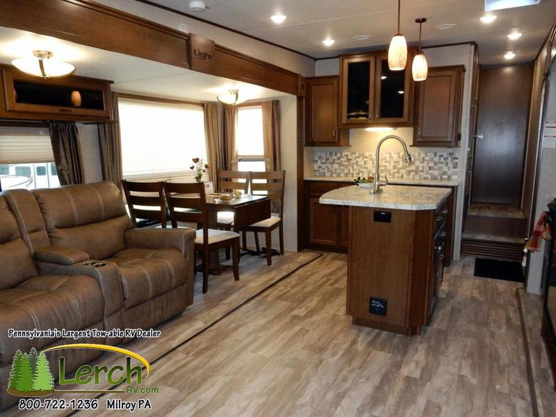 2017 Open Range Light Lf293rls Short Bed Half Ton Towable